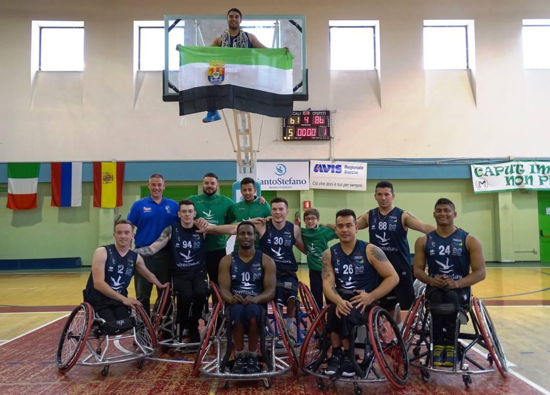 2019 EuroLeague 2 Finals Winners CP Mideba Extremadura