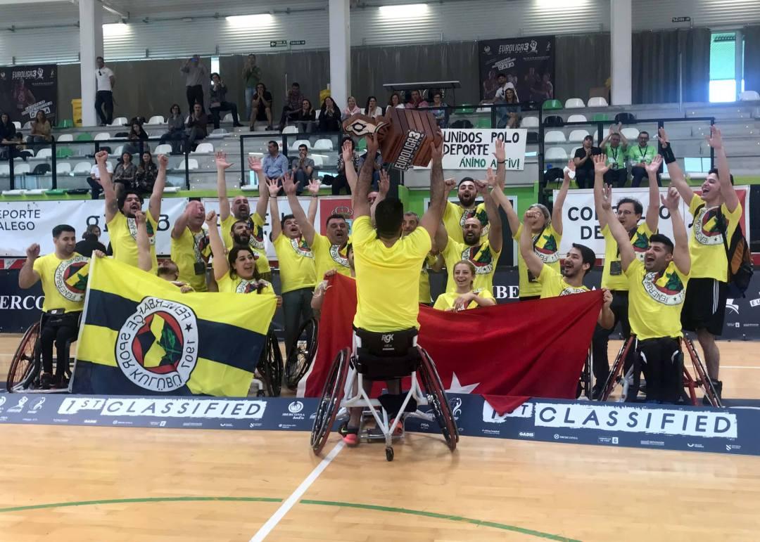 Turkey's 1907 Fenerbahçe EYSK wont the 2019 EuroLeague 3 Finals