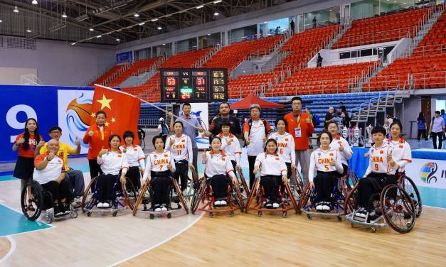 China women make it a clean sweep at 2019 Asia Oceania Championships