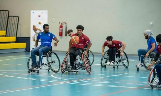 Ajman University showcase wheelchair basketball initiative