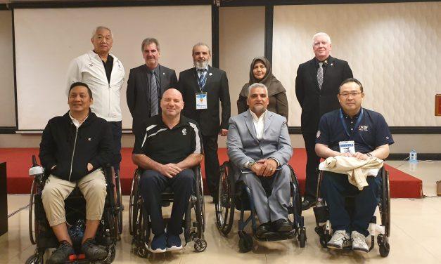 IWBF Asia Oceania Executive Council elected for 2019-2023 term