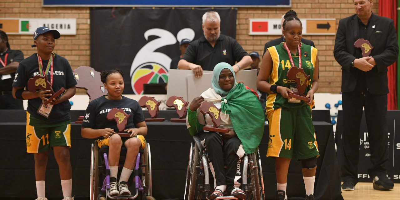 2020 IWBF Afro Paralympic Qualifiers All-Star Teams