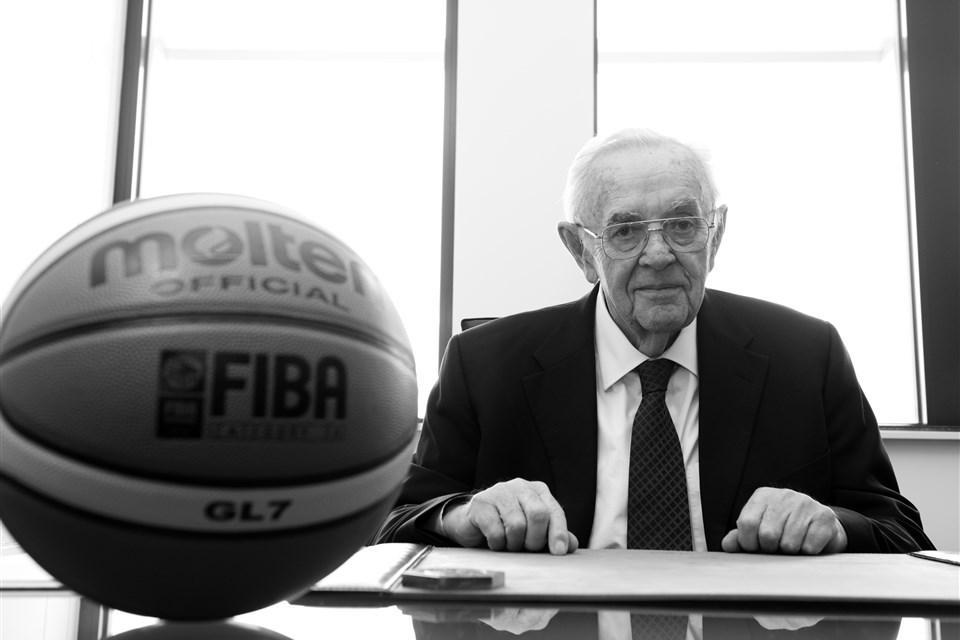 IWBF mourn passing of FIBA Secretary General Emeritus Borislav Stankovic