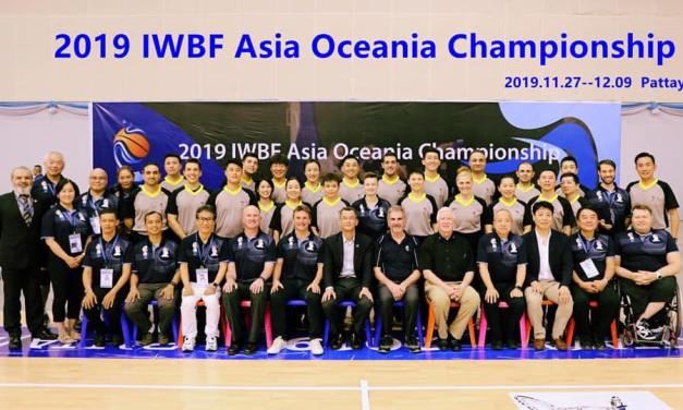 IWBF Asia Oceania Zone Officials share inspirational messages of support
