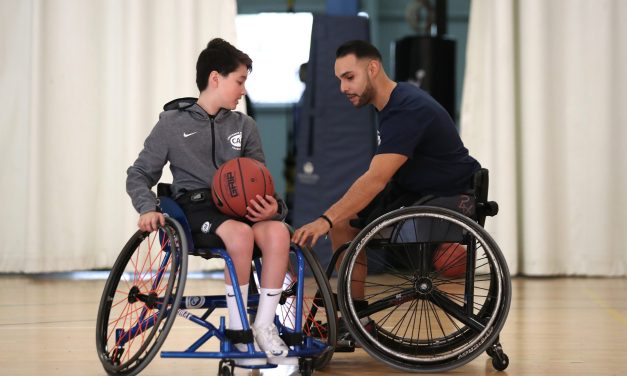 NWBA and CAF launch Wheelchair Basketball Training Zone