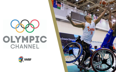 Olympic Channel welcomes Wheelchair Basketball