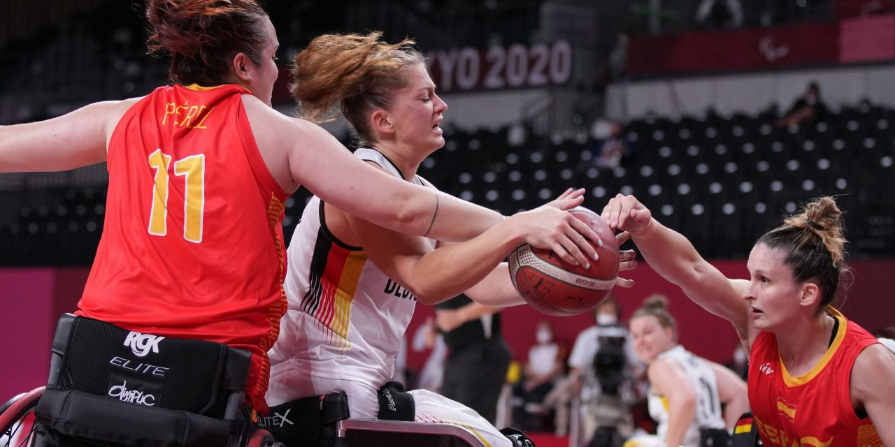 Germany make it to five Paralympic semi-finals in a row