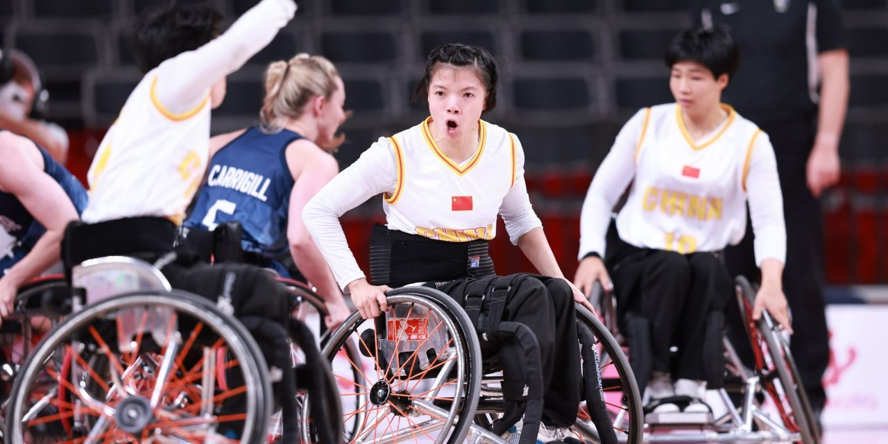 First ever Paralympic semi-final for China