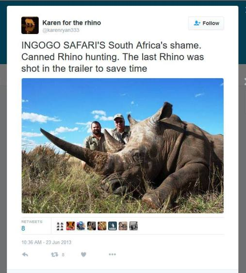 Rhino Hunt_Illegal