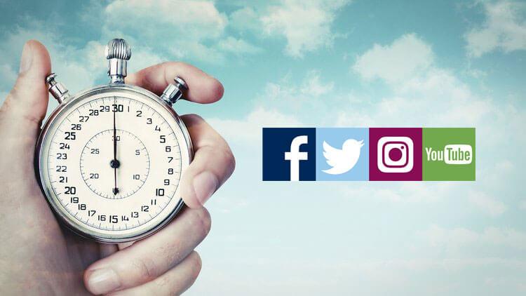 La durée idéale d'une vidéo pour Instagram, Twitter, Facebook et ...