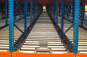pallet flow racking system