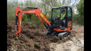 Mini digger hire | mini digger hire prices | cost of digger hire with driver - available in Kilkenny and Carlow from €35 per hour