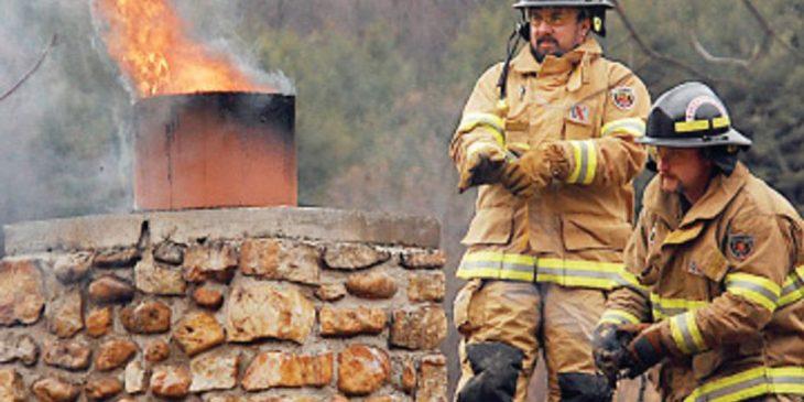 Chimney fires Ireland - insurance advice   chimney damage advice   Chimney CCTV survey