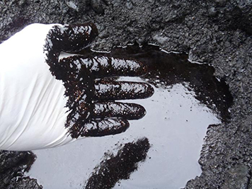 Oil spills at home and oil leaks on your property