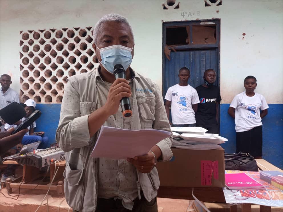 Représentant du Chef de bureau UNICEF à Kalemie
