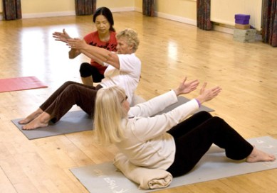 pilates class 1