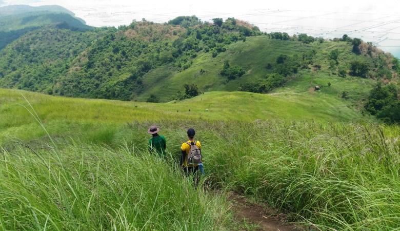 Mountain near metro manila