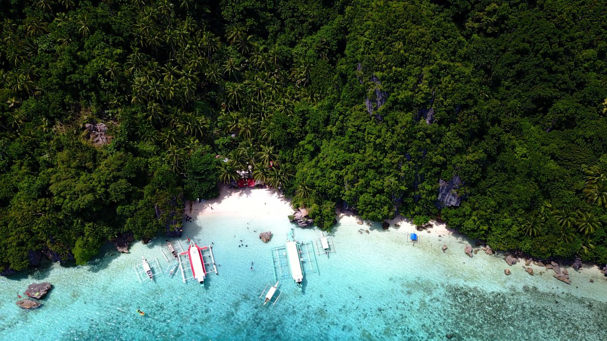 Bitaog Beach: Unspoiled White Sand Beach in Dinagat Islands