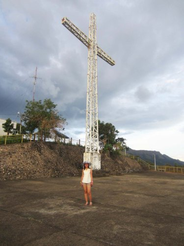 Mt. Tapyas summit cross