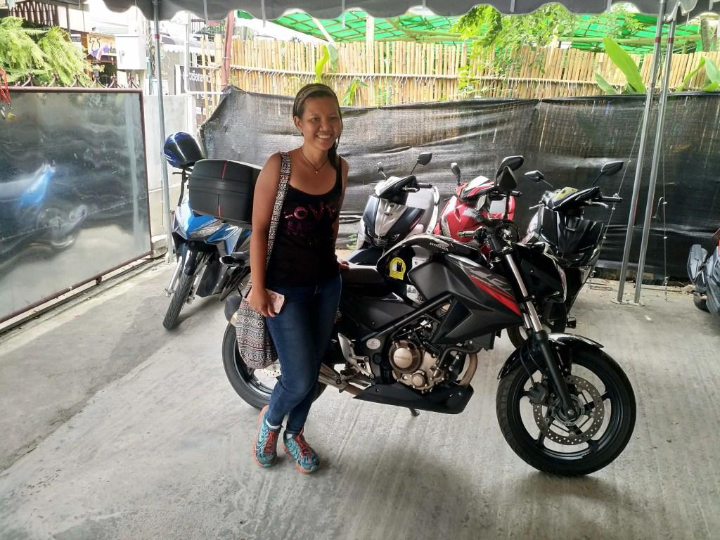 Motorbike in Chiang Mai