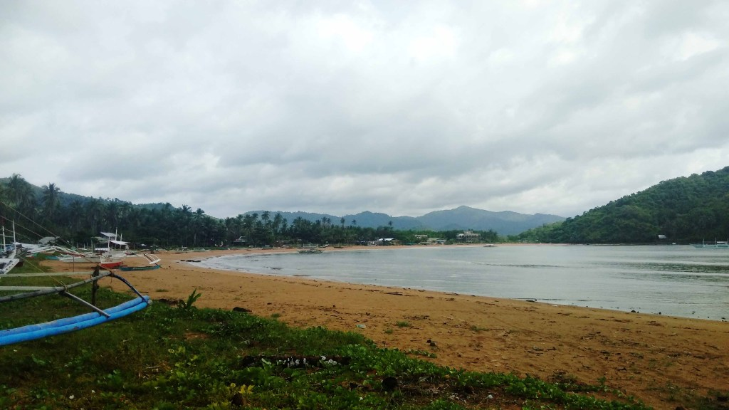Calitang Beach, the other half of Twin Beach