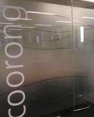 Adelaide Logo Window Film