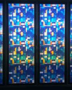 Adelaide Stained Glass Window Film