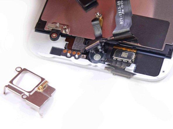 Верхняя панель iPhone 5S