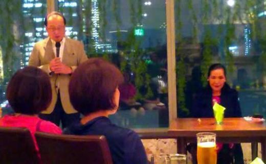 2017年10月16日(月)今野華都子先生を講師に迎えて『透明な在り方フォーラム』開催しました。