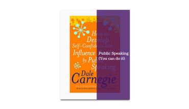 Dale Carnegie How to develop self-confidence and influence people with public speaking book