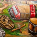 Colombia music genre, vallenato