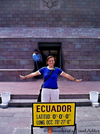 Cristina Luisa, of the Writing Chronicles on the Equator