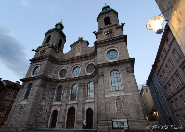 Innsbruck Cathedral, also known as the Cathedral of St. James (Dom zu St. Jakob), is an eighteenth-century Baroque cathedral