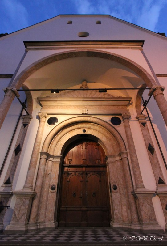 A door to a monestary in Innsbruck