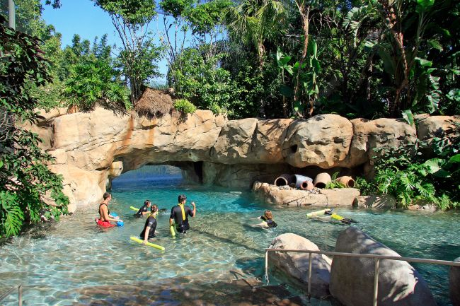 The Tropical River at Discovery Cove, Orlando, Florida