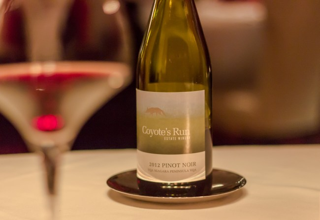 Coyote's Run 2012 Pinot Noir