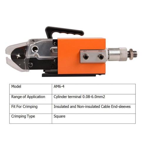 AM6-4 Pneumatic Crimp Tool
