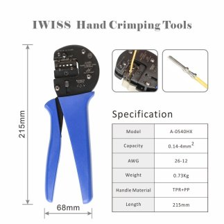 Ratchet Crimping Tool