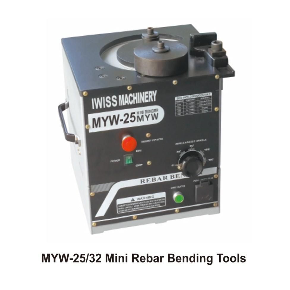 IWISS-MYW-25-32-Mini-Rebar-Bending-Tools
