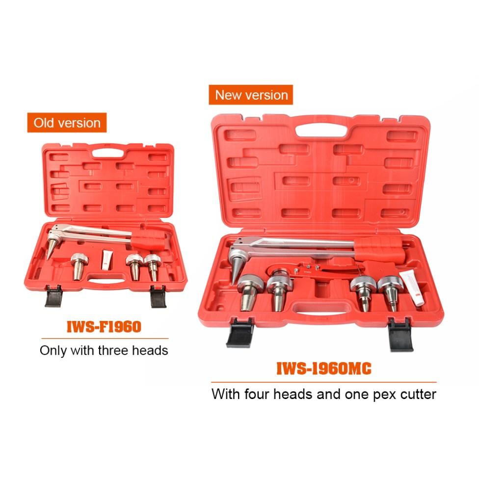 PEX Pipe Expander Tool Kit meet ASTM 1960