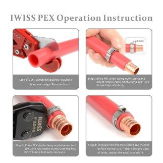 KF-1096 herramienta de sujeción PEX