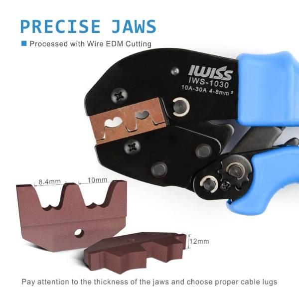 IWS-1030(10A-30A) precise jaws