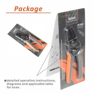 Mini Open Barrel Crimping tool IWS-2820M AWG28-20 9