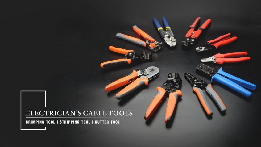 herramientas de cable de mano