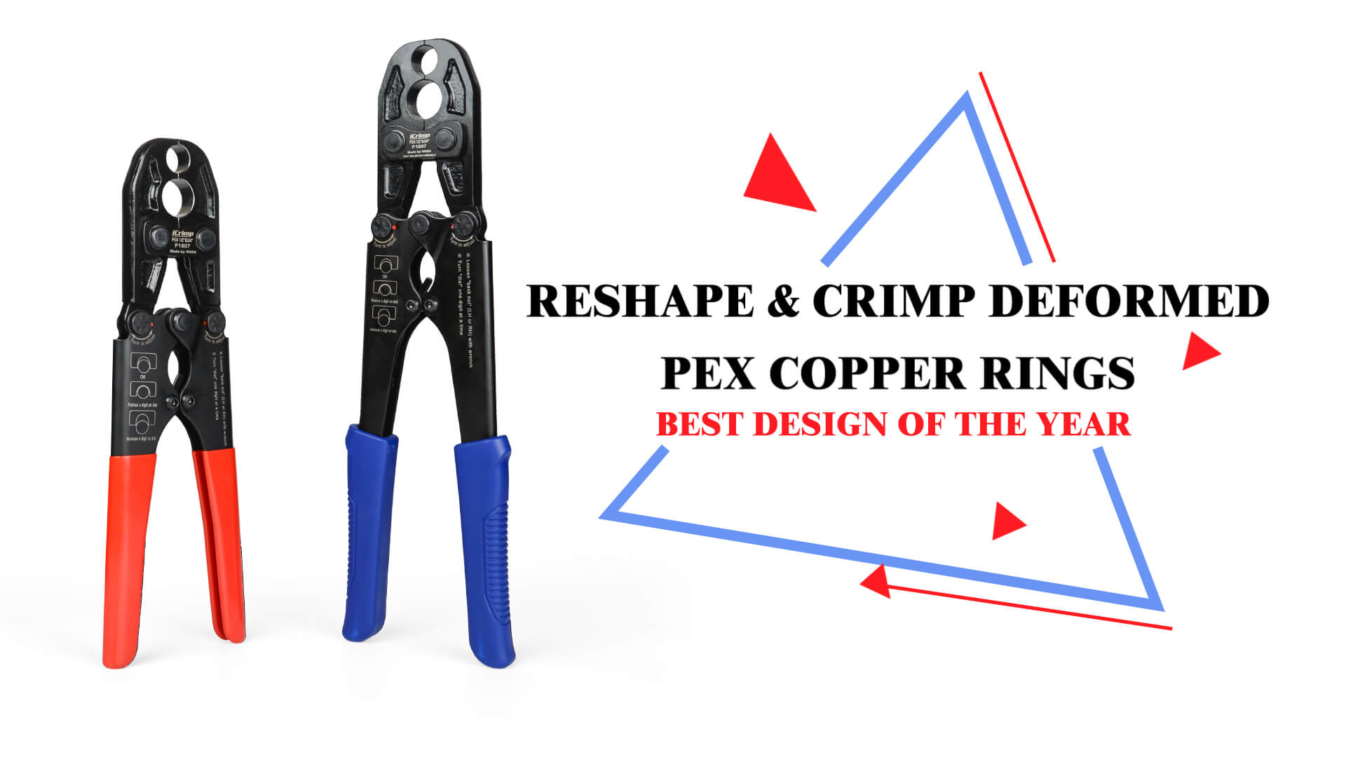 IWISS COPPER CRIMP RINGS CRIMPING TOOL