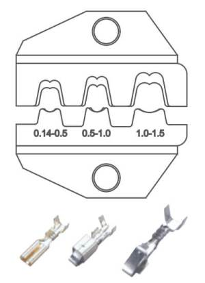 SN-48B conjunto de troqueles