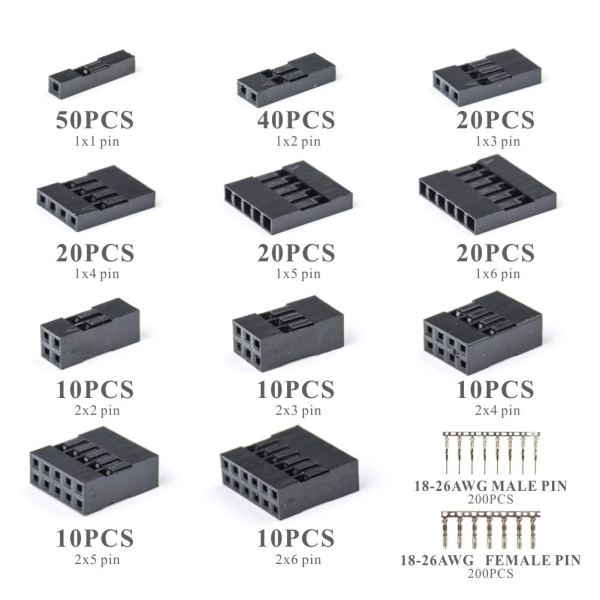 620pcs connectors with cutter IWS-620KIT