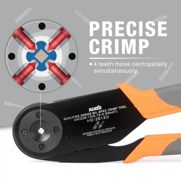 HD-2612D precise crimp