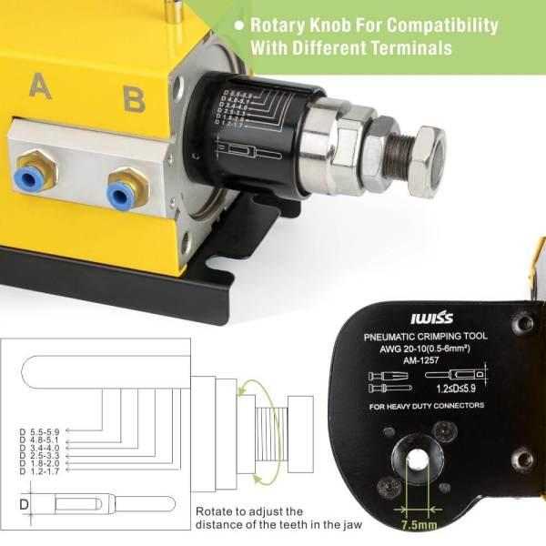 AM-1257 rotary konb