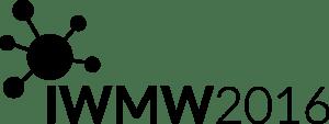 IWMW 2016 logo (black)